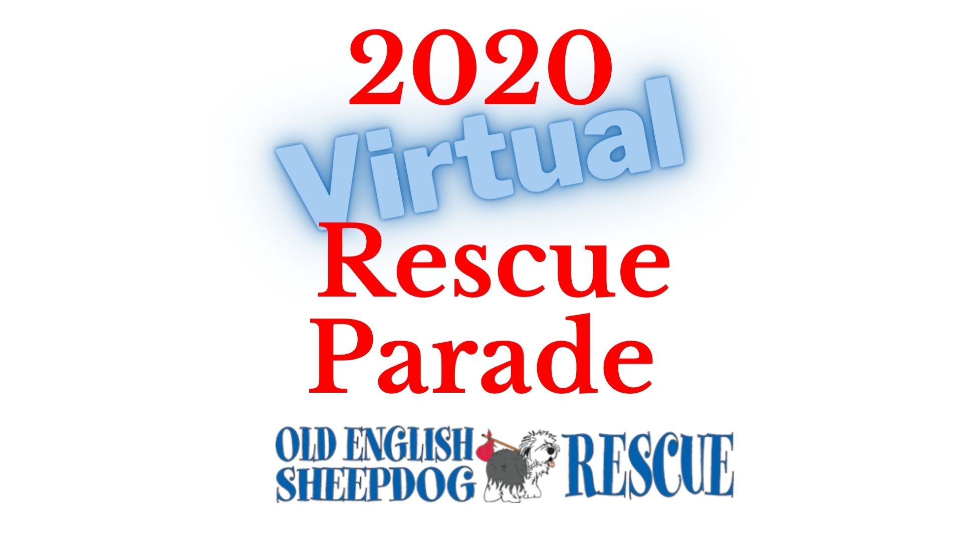 Virtual parade of rescue dogs